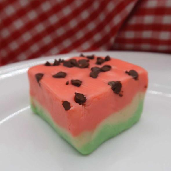 Watermelon Fudge - 1 lb. Homemade Fudge The Nut House