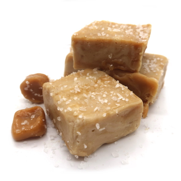 <p>Ribbons of salted caramel gently folded into velvety Butterscotch Fudge. This fudge tastes <span>amazing - you will love this classic flavor.</span></p> <p><strong>Each pound is cut into 4 thick 1/4 pound squares. That's a lotta fudge!!</strong></p> <p><strong><span>PLEASE ACKNOWLEDGE:</span> Some fudge can take 72 hours to ship if not already made. Call for availability. 918-266-1604</strong></p>