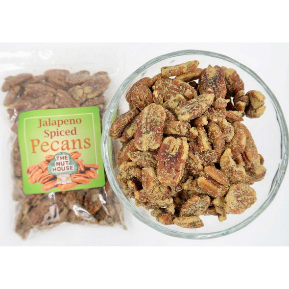 Jalapeno Spiced Pecans 8 oz Covered Nuts The Nut House