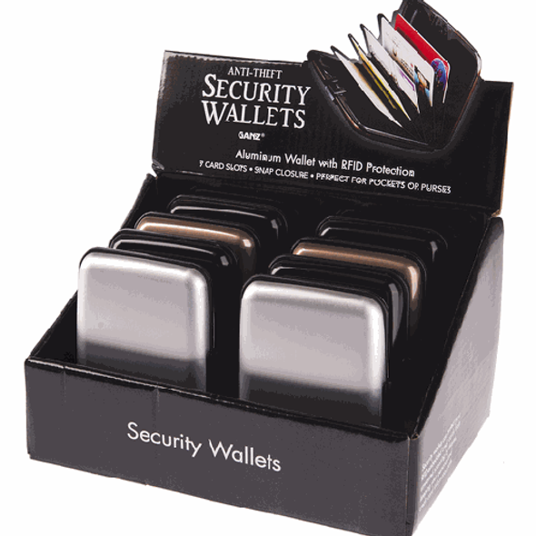 Security Wallet RFID protector Wallets The Nut House
