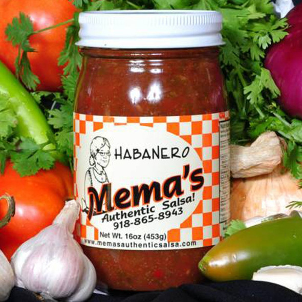 Mema's Habanero Salsa