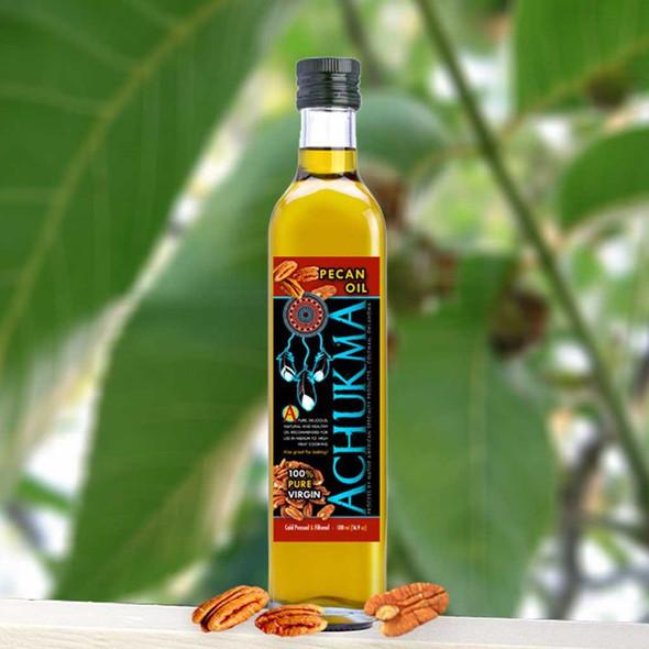 Achukma Virgin Pecan Oil 250 ml Cooking Oils The Nut House