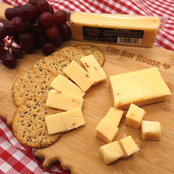Shelf Stable Hot Pepper Cheese Cheese The Nut House