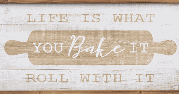 Life You Bake It Plaque