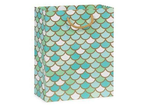 Mermaid Gloss Gift Bag 8x10 Gift Bags & Sacks The Nut House