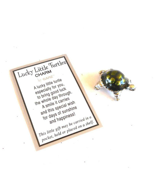 Lucky Little Turtles Charms & Pocket Tokens The Nut House