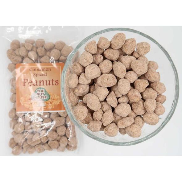Cinnamon Spiced Peanuts 12 oz Salted & Spiced Peanuts The Nut House