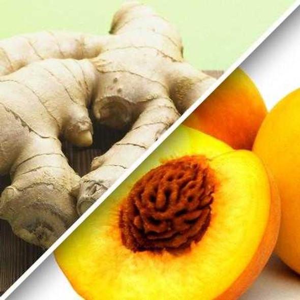 Ginger Peach Tea 1.6 oz Packaged Tea The Nut House