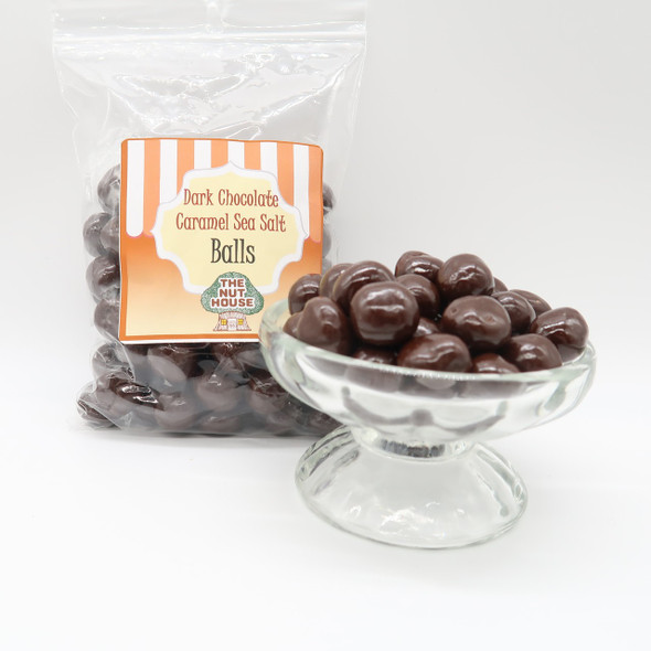 Chocolate Caramel Balls 12 oz