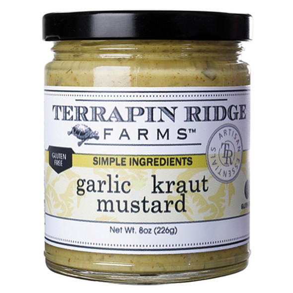 Garlic Kraut Mustard by Terrapin Ridge