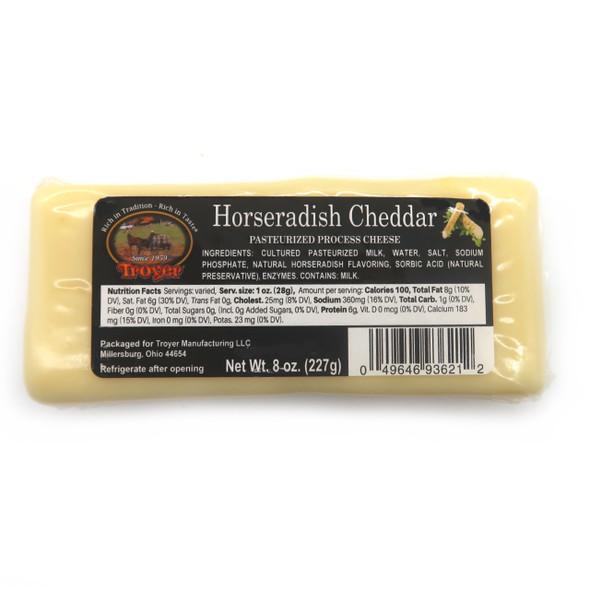 Shelf Stable Cheddar Horseradish Cheese