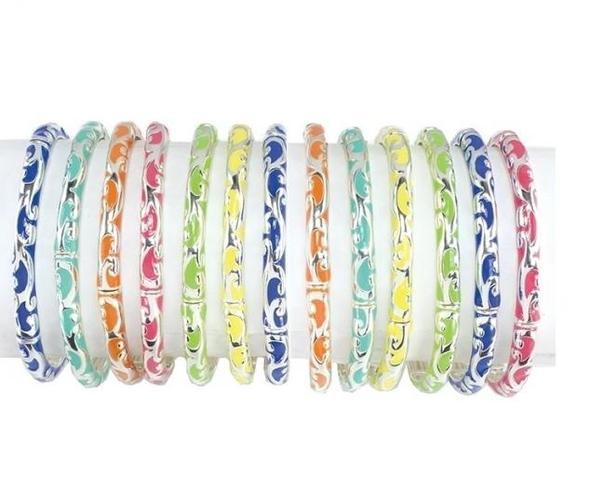 Color Bangle Bracelet