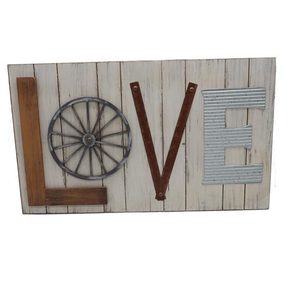 Love Wall Art Industrial