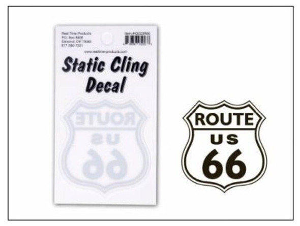 RT 66 Static Cling Decal