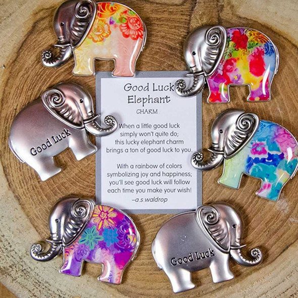 Good Luck Elephant Charms Charms & Pocket Tokens The Nut House