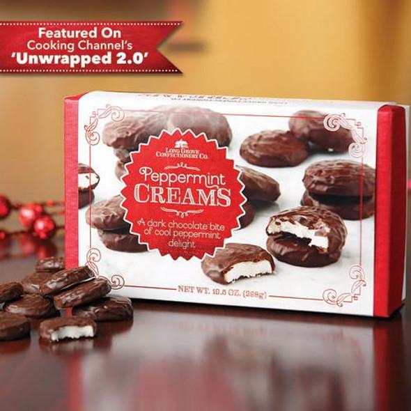 Dark Chocolate Peppermint Creams Box
