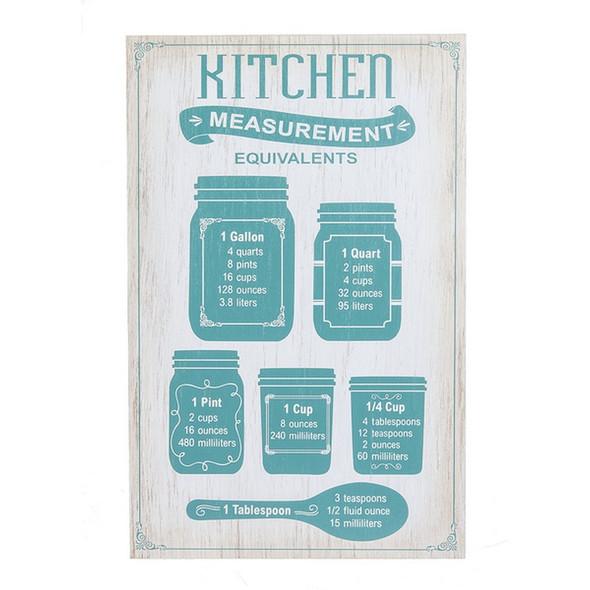 Kitchen Measurement Plaque