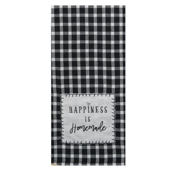 Farmhouse Applique Tea Towel