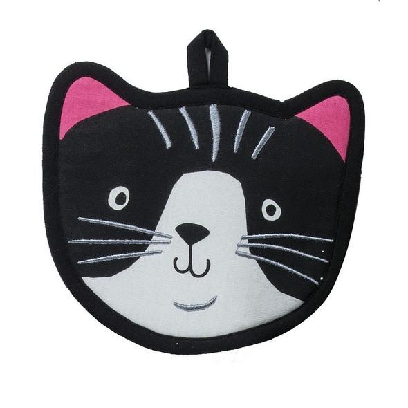Crazy Cat Shaped Potholder