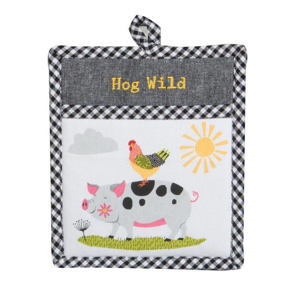 Farm Charm Pig Pocket Mitt