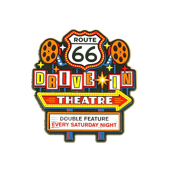R66 Drive In Theatre Magnet