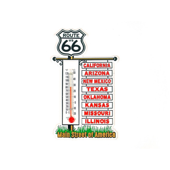 R66 Signpost Thermometer Magnet