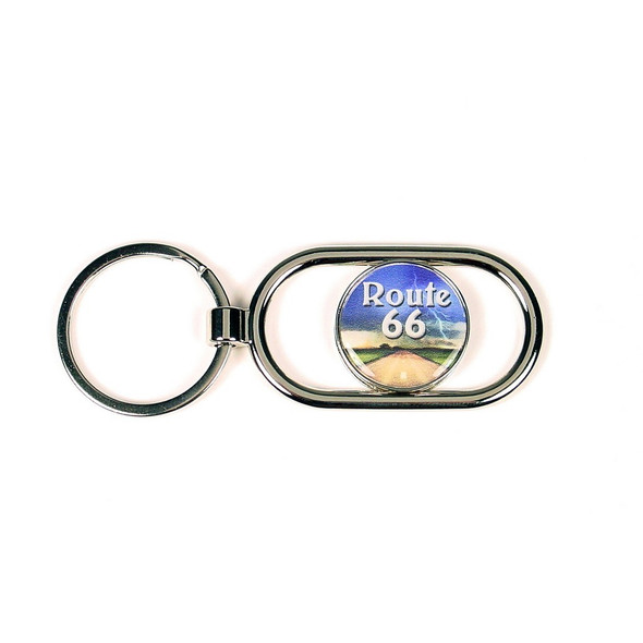 R66 Road Scene Slider Key Ring