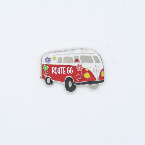 R66 Hippy Van Magnet