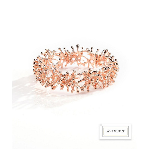 Coral Design Stretch Bracelet