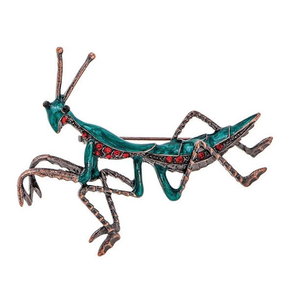 Mantis brooch pin