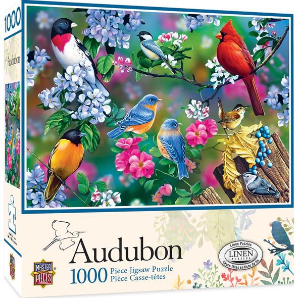 Audobon Songbird Collage 1000 PC Puzzle