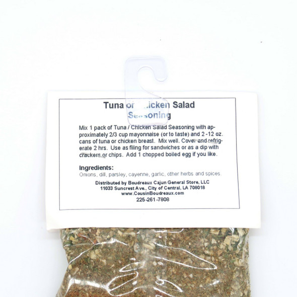 Boudreaux's Tuna or Chicken Salad Mix