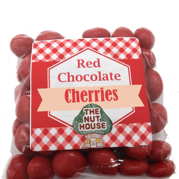 Red Chocolate Cherries 8 oz Fruit The Nut House