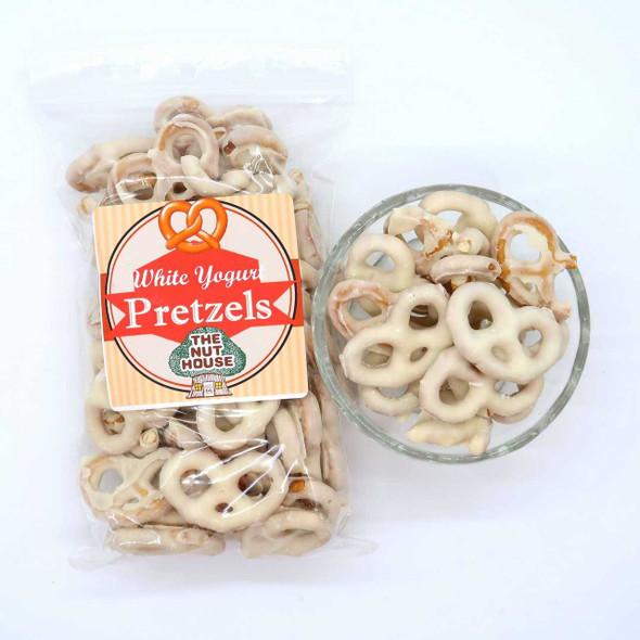 White Yogurt Pretzels 8 oz Pretzels The Nut House