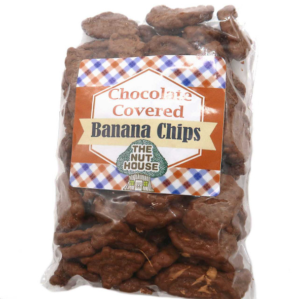Chocolate Covered Banana Chips 10 oz Fruit The Nut House