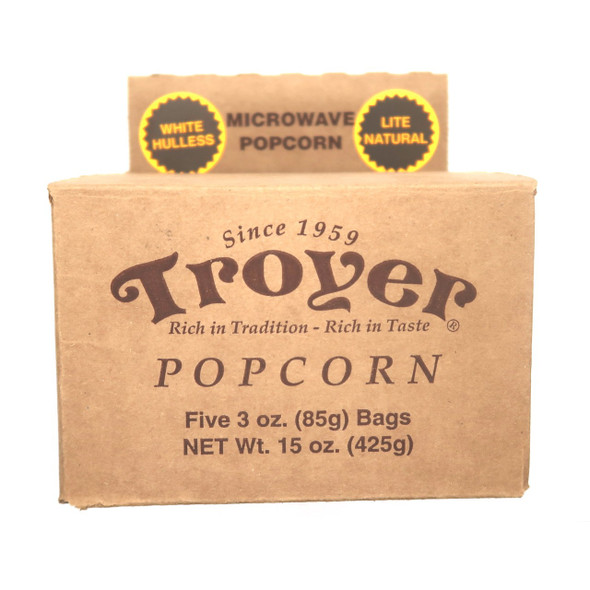 Microwave White Hulless Popcorn