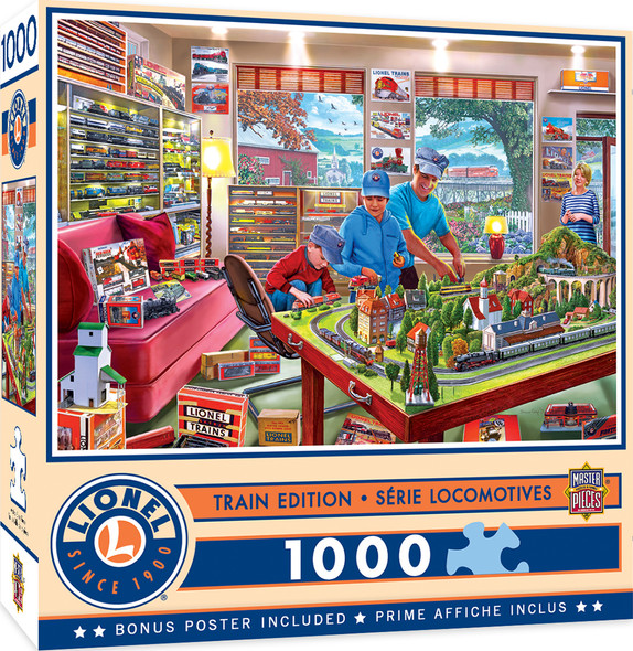 The Boy's Playroom 1000 PC Puzzle