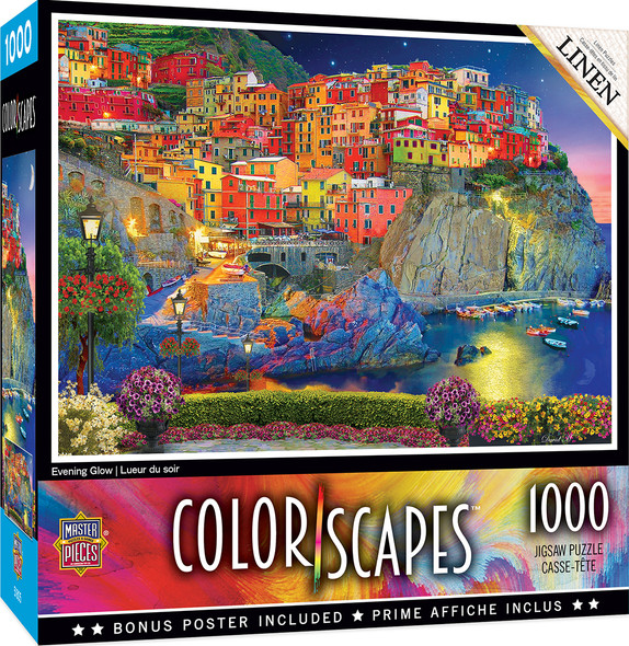 ColorScapes Evening Glow 1000 PC Puzzle by MasterPieces