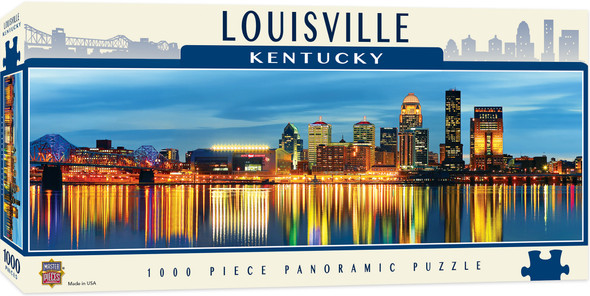 Louisville 1000 PC Panoramic Puzzle MasterPieces