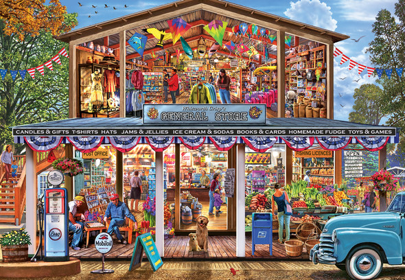 Hometown Market 1000 PC Easy Grip Puzzle