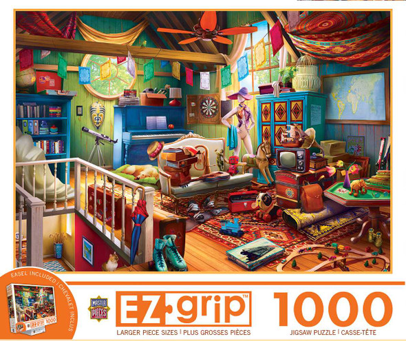 Attic Treasures 1000 Piece Easy Grip Puzzle Jigsaw Puzzles The Nut House