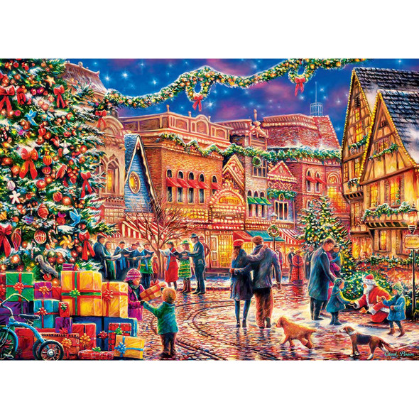 Village Square 1000 PC Puzzle