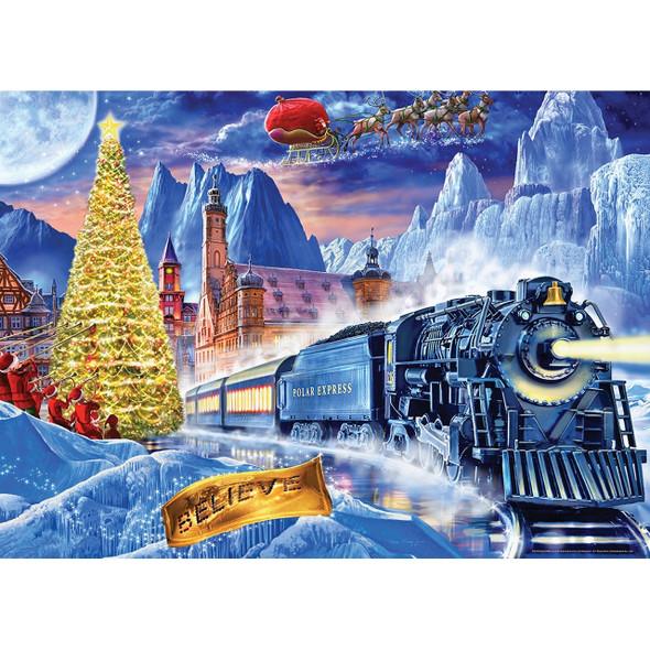 Polar Express 1000 Piece Puzzle