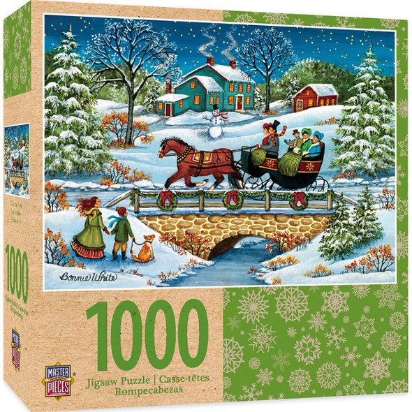 Over The River MasterPieces 1000PC Puzzle