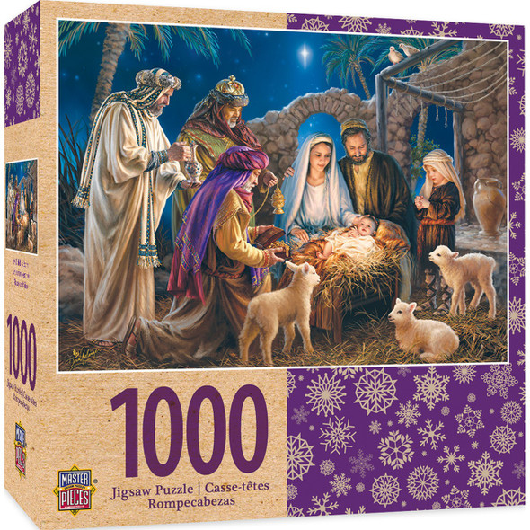 A Child Is Born 1000 PC Puzzle MasterPieces