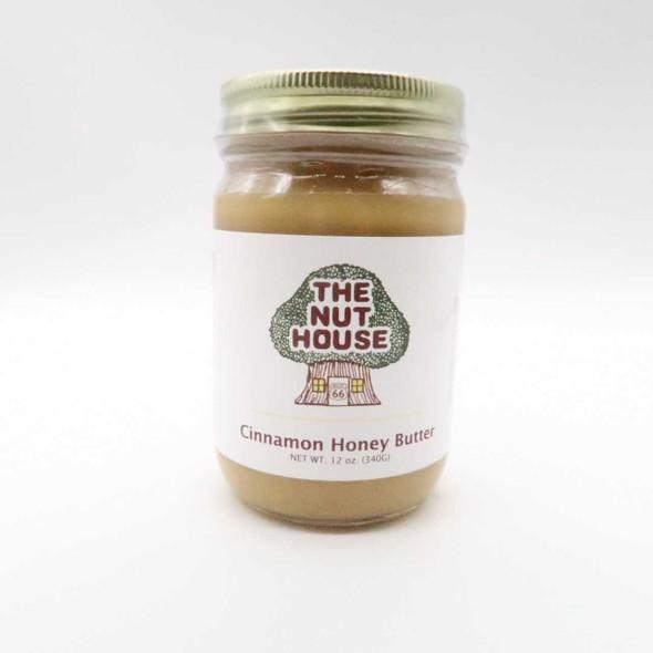 Nut House Cinnamon Honey Butter 12 oz Honey and Syrups The Nut House