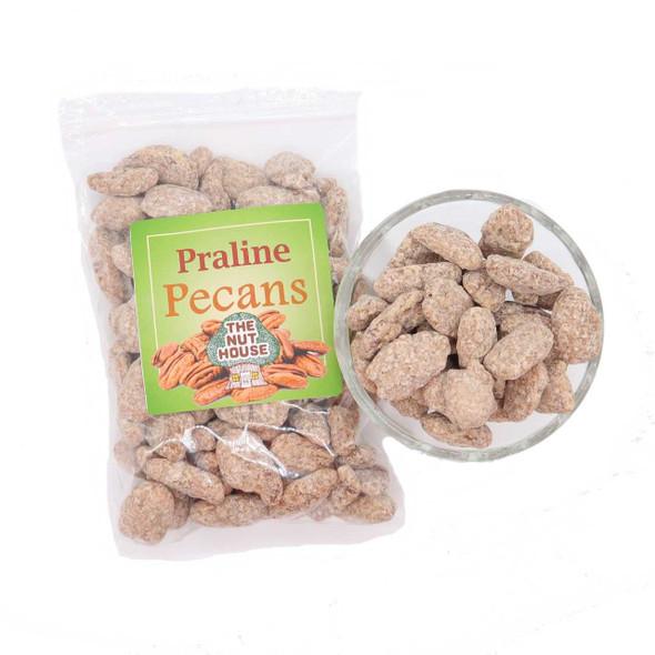 Praline Pecans 10 oz Candied Pecans The Nut House