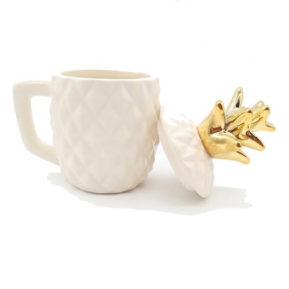 Pineapple Mug w/ Lid Mugs & Cups The Nut House
