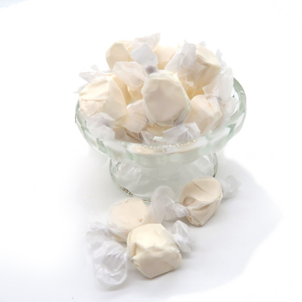 Vanilla Saltwater Taffy from  The Nut House