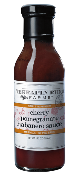 Cherry Pomegranate Habanero Sauce by Terrapin Ridge